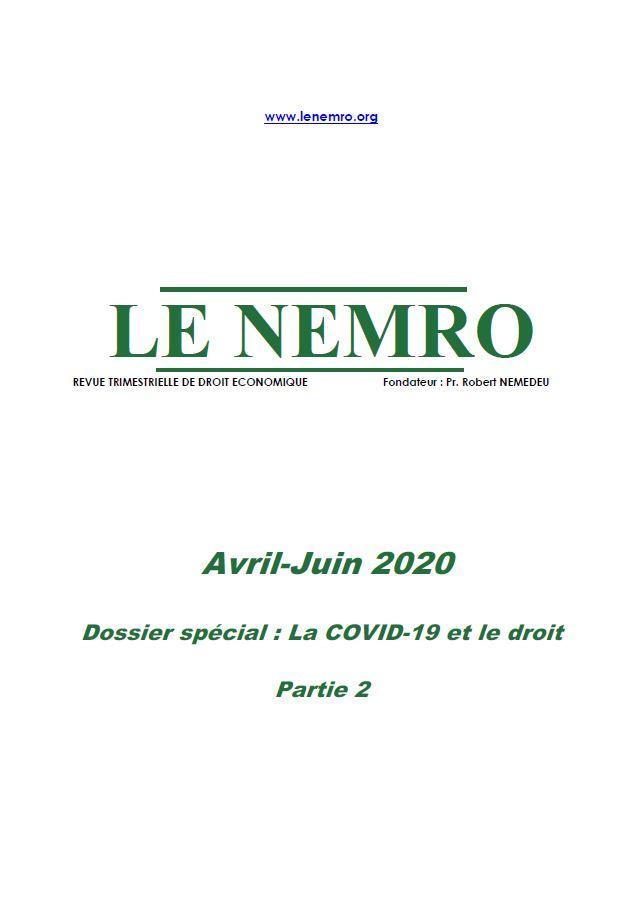 Revue Avril-Juin 2020 P2